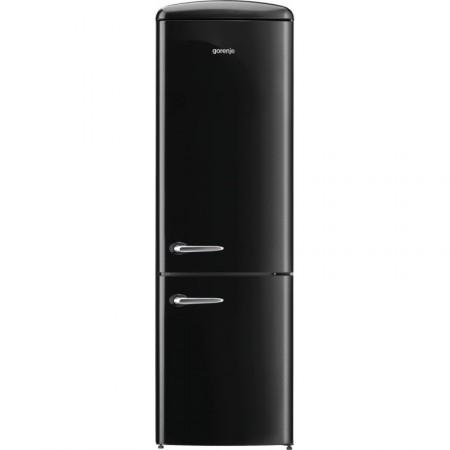 Хладилник сфризер, Gorenje Retro Collection ORK192BK, цвят черен