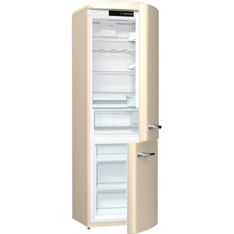 Хладилник сфризер, Gorenje Retro Collection ORK192C, цвят шампанско